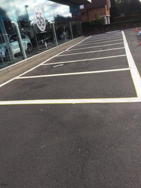 BT-group Schilderwerken Parking