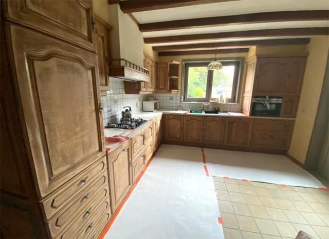 Schilderwerken - Interieur - Keuken Voor