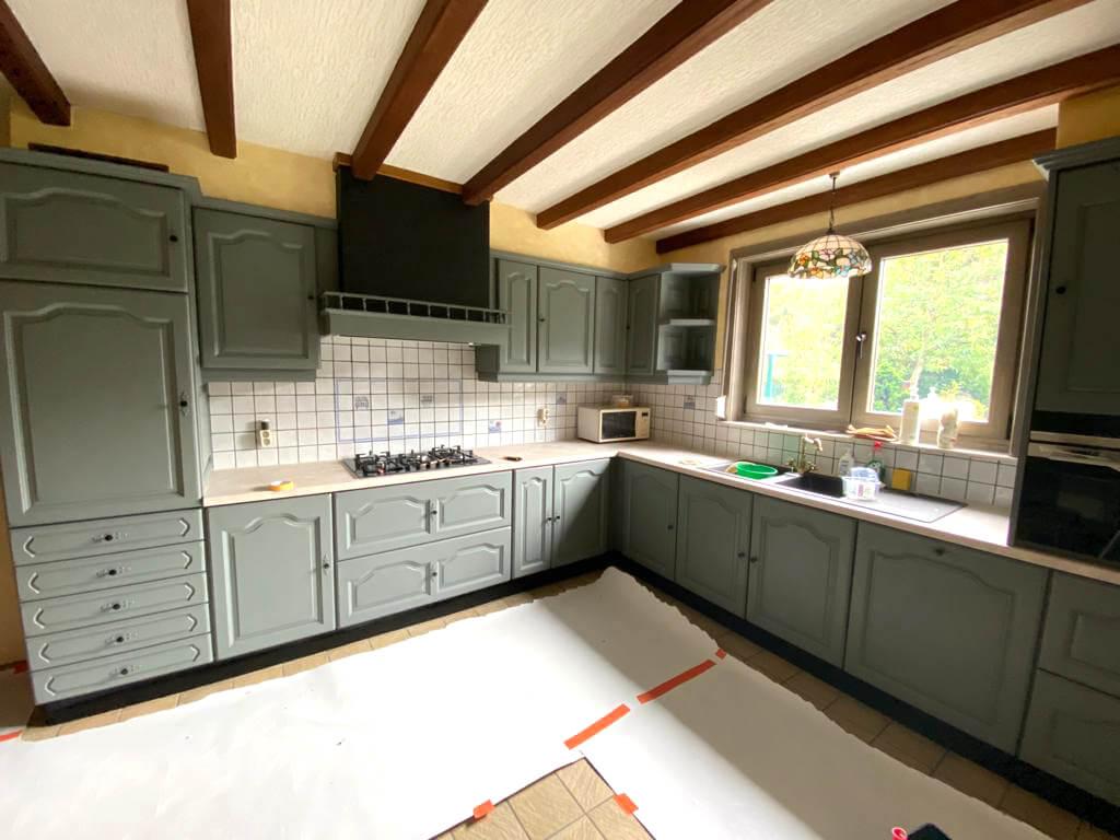 Schilderwerken - Interieur - Keuken Na