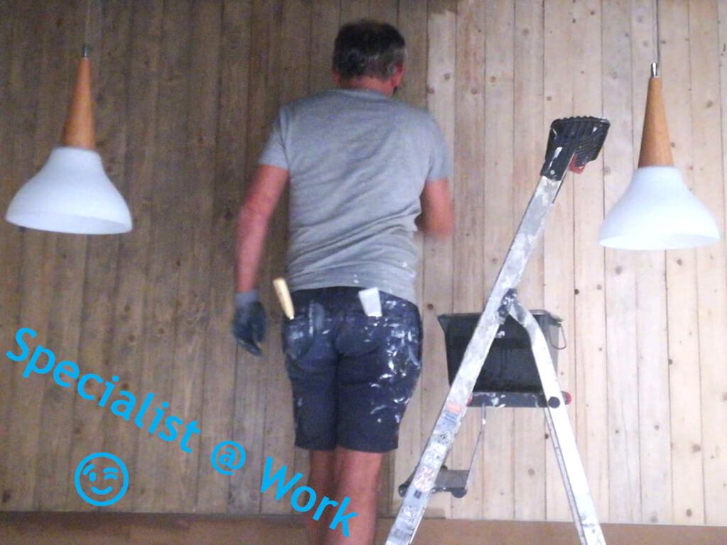 Schilderwerken - Interieur - Collega
